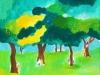 森の中のカップルたち